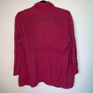 Frenchi Sweaters - Frenchi Pink Cardigan